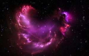 Glow nebula stars space galaxy Universe sky ufo wallpaper ...