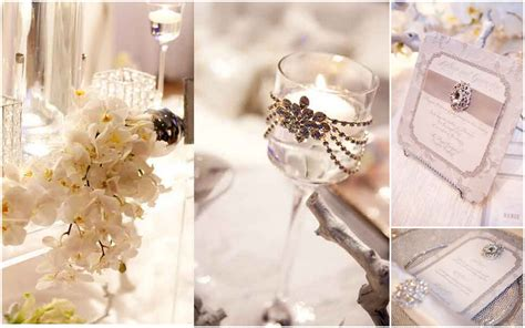 Wedding Ideas For Winter : Baby, It's Cold Outside {winter Wedding Inspiration Board