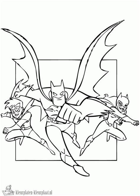 Kleurplaat Batgirl by Kleurplaten Batgirl Kleurplaten Kleurplaat Nl
