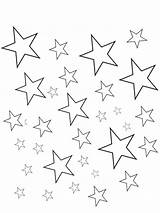 Coloring Star Pages Twinkle Little Colouring Printable Print Getcolorings sketch template