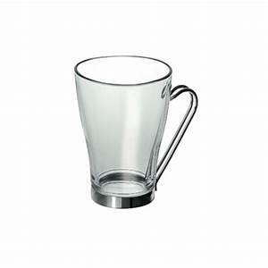 Tasse En Verre : tasse caf en verre et m tal 32 cl x1 deco et ~ Teatrodelosmanantiales.com Idées de Décoration