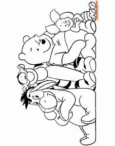 Winnie the Pooh & Friends Coloring Pages 3 | Disney ...