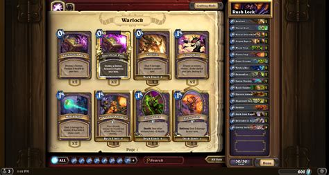 hearthstone turn 7 legend rank deck guidescroll