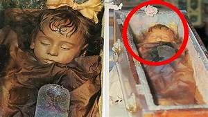 Is Child mummy Rosalia Lombardo Opening Her Eyes - YouTube