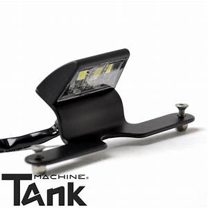 Eclairage De Plaque Moto : eclairage de plaque rizoma led noir tankmachine ~ Medecine-chirurgie-esthetiques.com Avis de Voitures