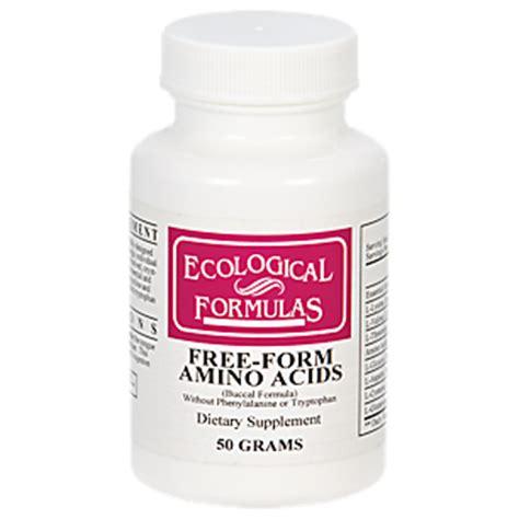 free form amino acids 50 grams powder by cardiovascular