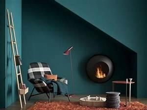 Bleu Paon Dulux : day mood 3 futur appartement m 6 juste maudinette ~ Nature-et-papiers.com Idées de Décoration