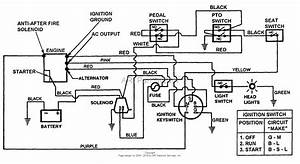 Snapper Lt140h38bbv 38 U0026quot  14 Hp Hydro Drive Tractor Series B Parts Diagram For Wiring Diagram