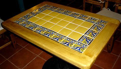 talavera tile tables by la casa de mexico imports