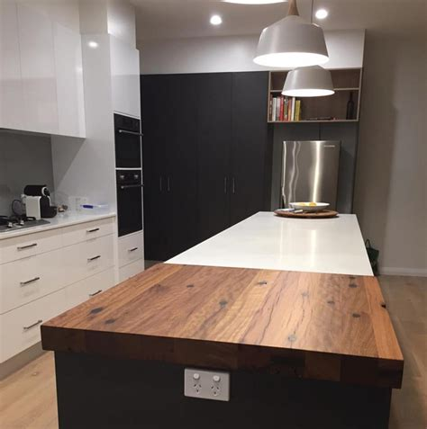 timber benchtops melbourne recycled timber benchtops