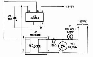 index 18 analog circuit basic circuit circuit With lamp pulser circuit
