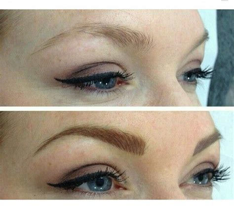 images  micro blading eyebrows  pinterest
