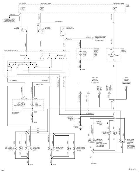 wiring diagram   ford     brake light