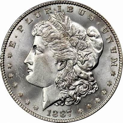 Dollar Silver Morgan Coin Value 1887 Gold