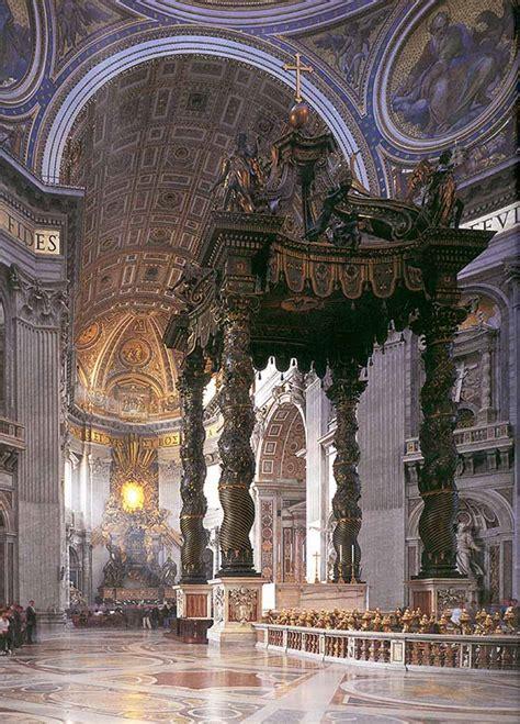 Baldacchino Bernini by Baldacchino Di Bernini Descrizione Dell Opera E Mostre