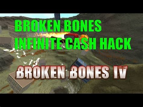 roblox hack script  broken bones iv  infinite money