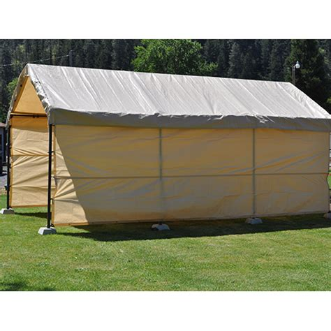 12x20 Replacement Carport 5 Piece Combo Kit Tan
