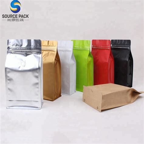 The custom coffee bag company's core business is the production of specialty food and gourmet coffee packaging. Custom Printed Kraft Aluminum Foil Valve Coffee Bag With Zipper - Buy Coffee Bag With Zipper ...