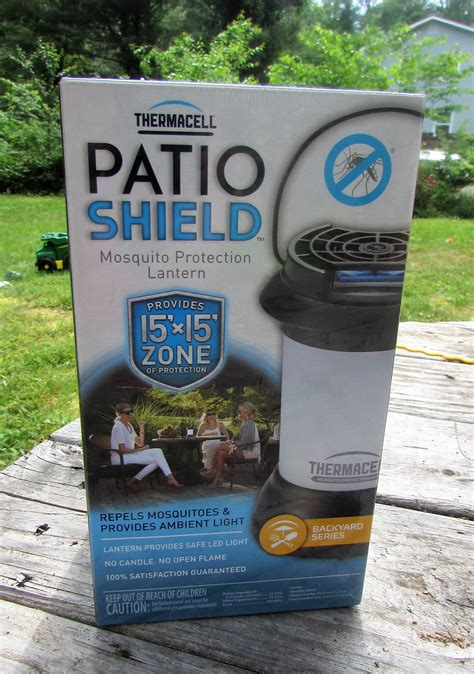 thermacell patio shield mosquito protection thermacell bristol mosquito repeller lantern product