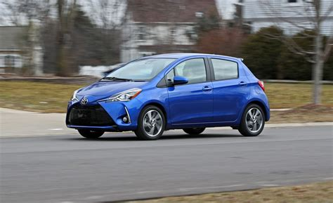 2018 Toyota Yaris  Indepth Model Review  Car And Driver