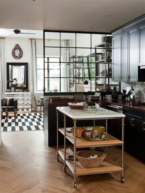 verriere interieure cuisine la verrière intérieure en 62 idées pour toute la maison