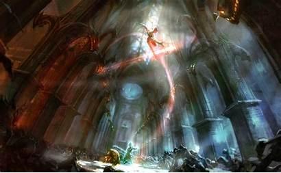 Sorcerer Dark Background Souls Wallpapers Zill