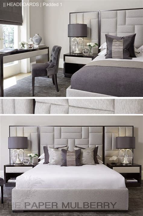 Bedroom Ideas Upholstered Headboard by The Paper Mulberry Headboards Padded And Upholstered