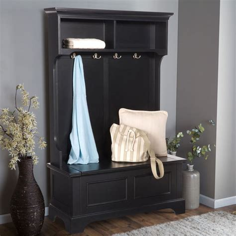 entryway bench with shelf entryway storage bench with coat rack large
