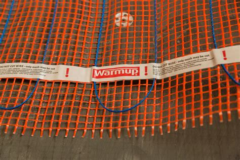 Electric Radiant Heat Mat - stickymat radiant floor heating electric matting system