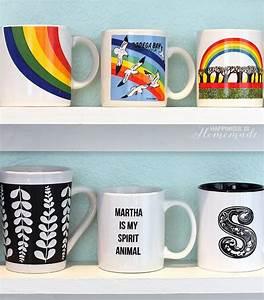 Diy, Mug, Collection, Display, Shelves