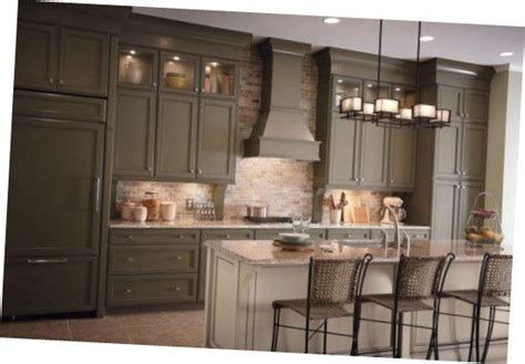 olive kitchen accessories wonderful merillat kitchen cabinets olive green 1177