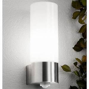 Lampen Mit Bewegungsmelder Innen : schlanke aussenleuchte mit bewegungsmelder cmd cmd 43 bm click ~ Watch28wear.com Haus und Dekorationen