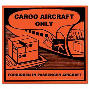 cargo aircraft only labels With cargo aircraft only label