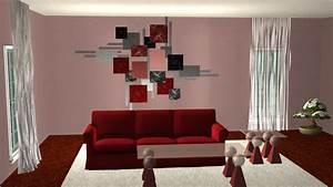 Wanddeko Ideen Wohnzimmer : wanddeko wohnzimmer modern ~ Markanthonyermac.com Haus und Dekorationen