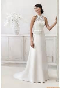 brautkleid mit spitze elegantes schlichtes brautkleid 2013 aus taft mit spitze