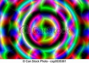 Clipart of Neon Glow A background of neon colors and
