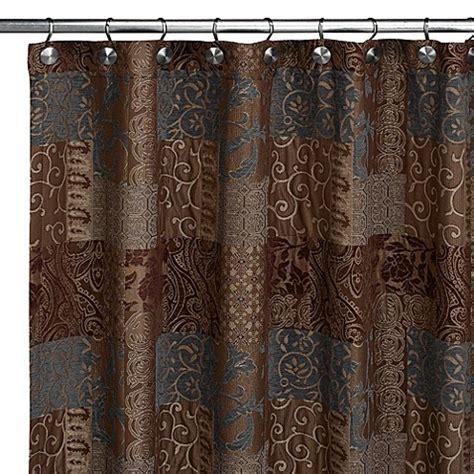 croscill shower curtain galleria fabric shower curtain by croscill bed bath beyond