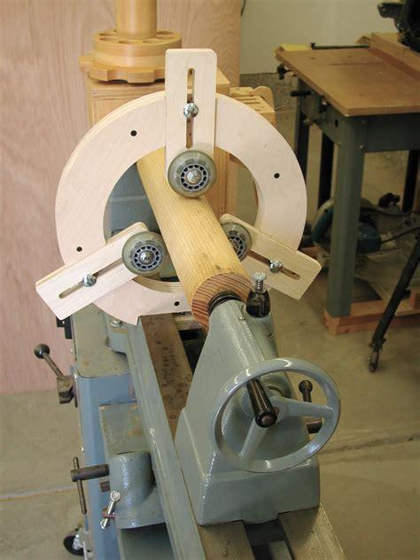 woodwork steady rest  wood lathe plans  plans