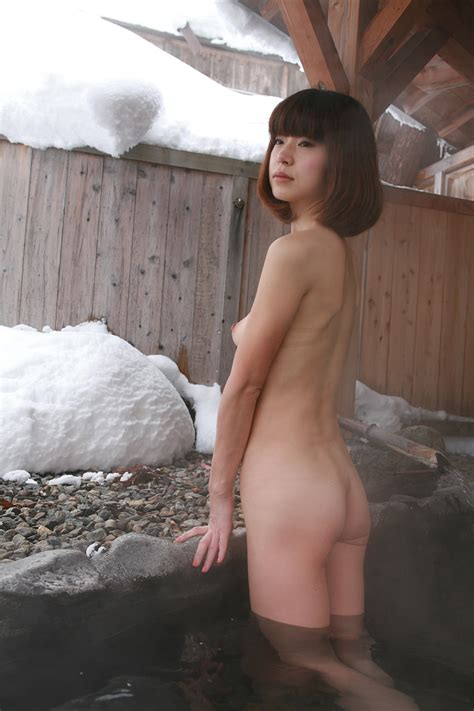 Hot Spring In Snow 924 4  In Gallery Japanese Amateur
