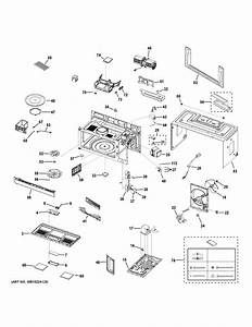 Ge Dvm7195bl2ts Microwave  Hood Combo Parts