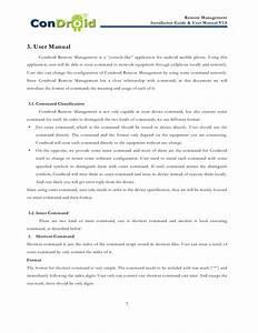 Condroid Remote Management