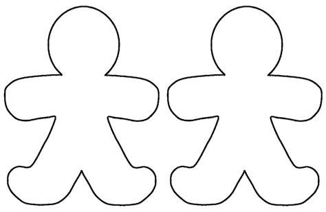 gingerbread template printable gingerbread template http webdesign14