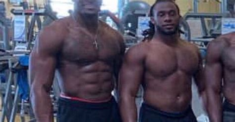dk metcalf  absurdly ripped   body fat