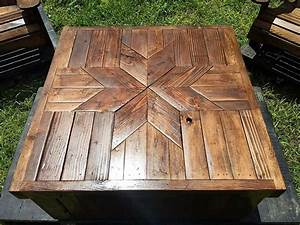 In some of our earlier wood pallet projects we have kept