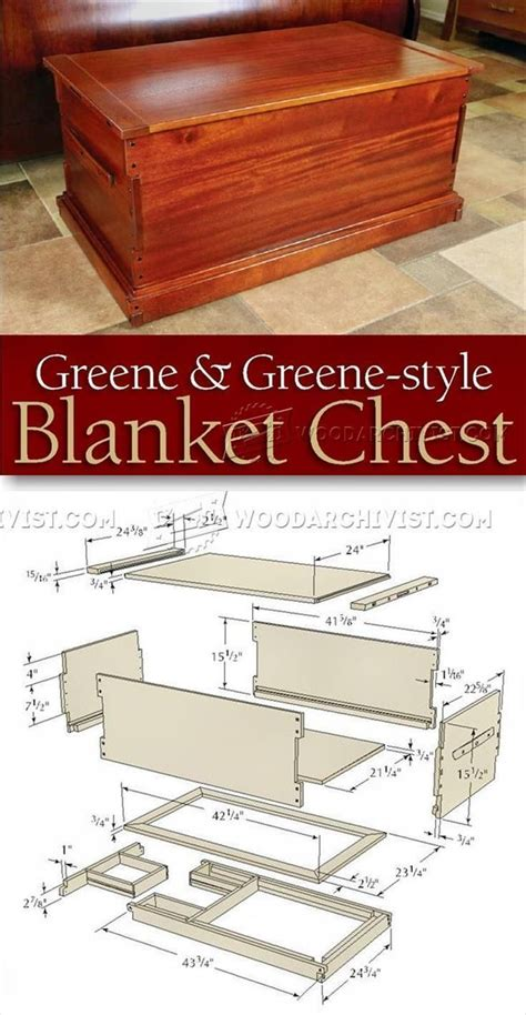 blanket hope chests images  pinterest