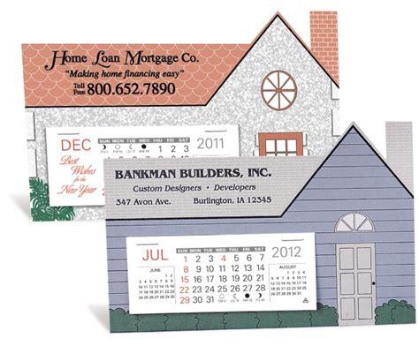 real estate desk calendars house shape desk calendar with design featuring window