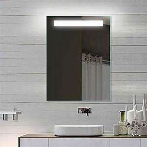 Badspiegel 80 X 60 : led badezimmerspiegel badspiegel wandspiegel lichtspiegel 60x80 spe6080h m bel24 ~ Bigdaddyawards.com Haus und Dekorationen