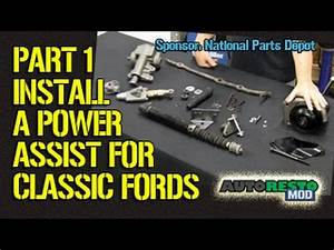 Adding Power Assist Steering To Classic Ford Part 1