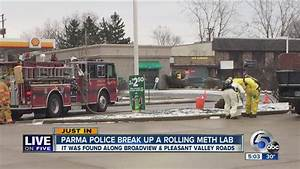 LOF: Parma Police respond to rolling meth lab in gas ...