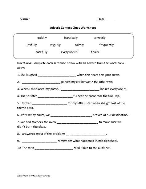 usable context clues worksheet goodsnyc